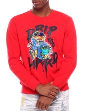 Pullover Sweatshirts - Drip Too Hard Crewneck Sweatshirt-2700884