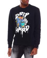 Pullover Sweatshirts - Drip Too Hard Crewneck Sweatshirt-2700909