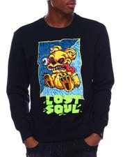 Pullover Sweatshirts - Lost Soul Crewneck Sweatshirt-2700925