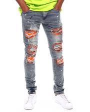 Jeans & Pants - Paint Splatter Ripped Jean-2701541