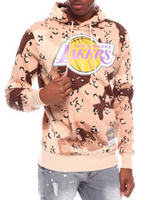 Mitchell & Ness - LOS ANGELES LAKERS Camo Reflective Hoodie-2701221