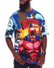 Akademiks - Red Storm Hero T-Shirt (B&T)-2702063