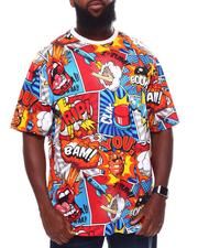 Akademiks - Comic Pop Art T-Shirt (B&T)-2702071