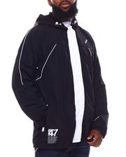 Light Jackets - Honor Lifted Zip Windbreaker Jacket (B&T)-2701870