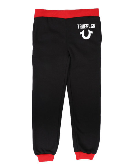 True Religion - TR Logo Joggers (8-20)