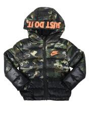Outerwear - Color Block Sportswear Puffer Jacket (4-7)-2700766