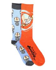 DRJ SOCK SHOP - 2Pk Avatar Socks-2702288