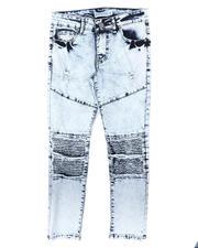 Arcade Styles - Cut & Sew Moto Underlay Jeans (8-18)-2700353
