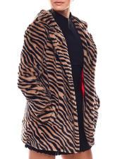 Women - NVLT Tiger Print Faux Fur Jacket-2702907