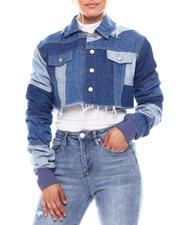 Women - Denim Jacket W/Detail Back-2702932