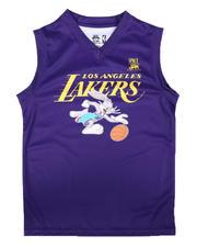 NBA x SPACE JAM - NBA x Space Jam Los Angeles Lakers Bugs Bunny Jersey (8-18)-2700483