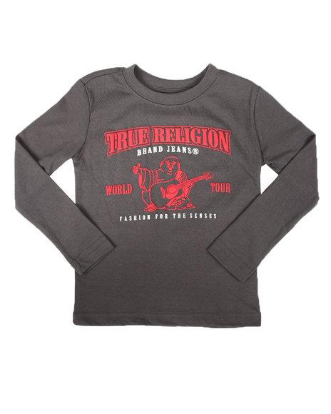 True Religion - Long Sleeve Puff Tee (4-7)