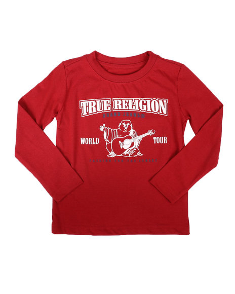 True Religion - Long Sleeve Puff Tee (8-20)