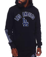 Pro Standard - LOS ANGELES DODGERS STACKED LOGO HOODY-2698237