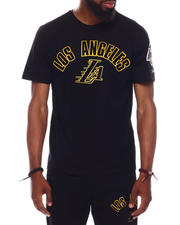 Pro Standard - LOS ANGELES LAKERS STACKED LOGO PRO TEAM SHIRT-2698808