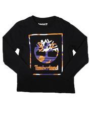 Timberland - Camo Frame Long Sleeve Tee (8-20)-2702346