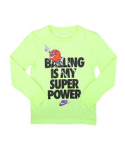 Nike - Balling Is My Super Power Long Sleeve Tee (4-7)-2702360