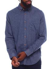 DJPremium - Ls Twill Flannel Shirt-2700705