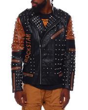 Fall-Winter - RockStar Tiger Moto Jacket w All over Studs-2703079