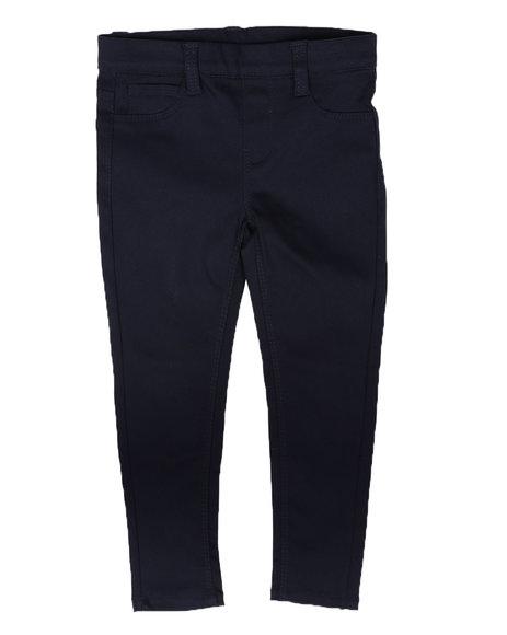 La Galleria - Pull-On Basic Twill Jeggings (4-6X)