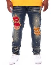 Jeans & Pants - Bleached Jeans With Contrast Underlay (B&T)-2699153