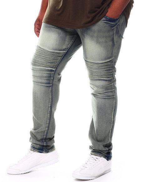 Reason - Causeway Moto Denim Jeans (B&T)