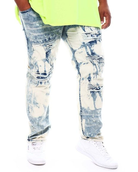 Reason - Luther Distressed Denim Jeans (B&T)