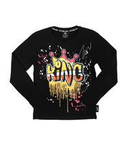 Tops - King Drip Long Sleeve Tee (8-20)-2702724