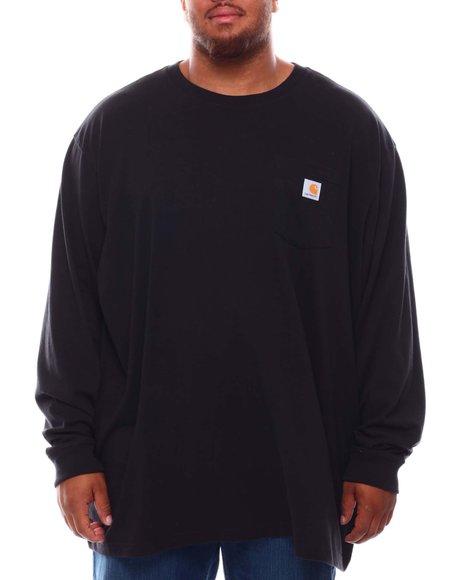 Carhartt - Loose Fit Heavyweight Long Sleeve Pocket T-Shirt (B&T)