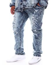 Buyers Picks - Broken Down Biker Moto Denim Jeans (B&T)-2702696