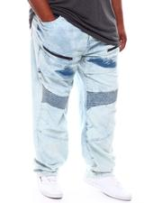 Akademiks - Zipper Detail Moto Jeans (B&T)-2704107