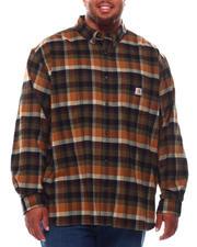 Carhartt - Rugged Flex Relaxed Fit Midweight Flannel Long Sleeve Shirt (B&T)-2695886