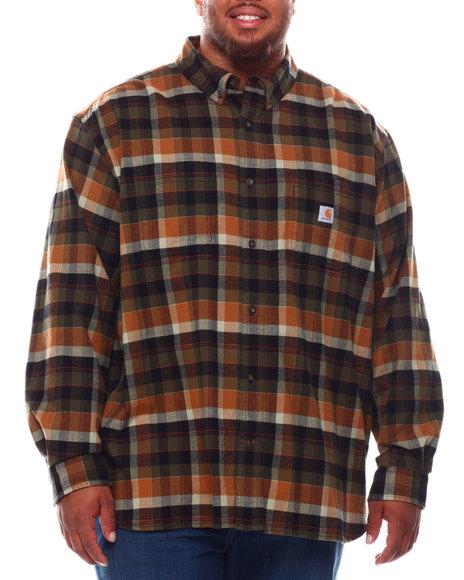 Carhartt - Rugged Flex Relaxed Fit Midweight Flannel Long Sleeve Shirt (B&T)