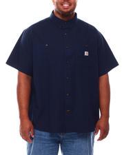 Carhartt - Rugged Flex Relaxed Fit Midweight Canvas Short Sleeve Shirt (B&T)-2695889