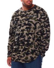 Carhartt - Relaxed Fit Heavyweight Long Sleeve Camo Logo Graphic T-Shirt (B&T)-2698448