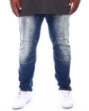 Jeans & Pants - Moto Knee Denim Jeans (B&T)-2702753