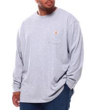 Carhartt - Loose Fit Heavyweight Long Sleeve Pocket T-Shirt (B&T)-2698467