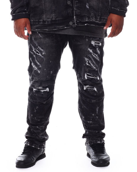 Buyers Picks - Broken Down Biker Moto Denim Jeans (B&T)