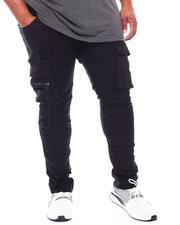 SMOKE RISE - Utility Slim Tapered Denim Jeans (B&T)-2704138