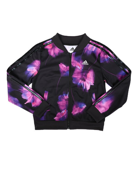 Adidas - Floral Tricot Jacket (7-16)