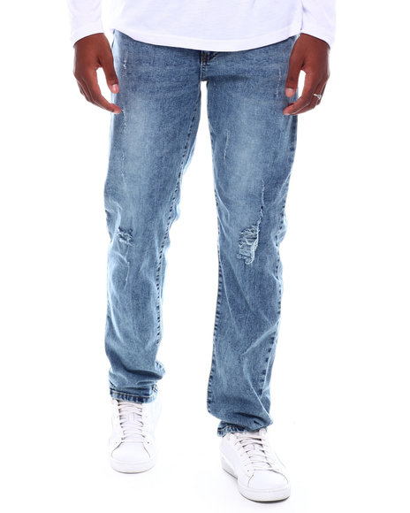 Buyers Picks - Washed Denim w Ticking and Rips