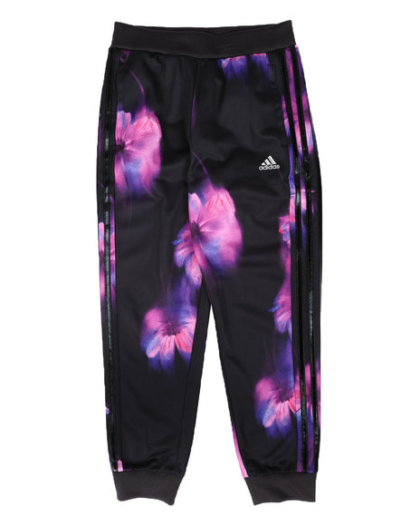 Adidas - Floral Tricot Joggers (7-16)