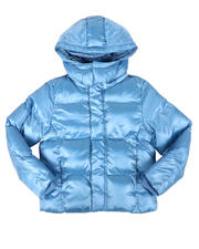 Jordan Craig - Shiny Hooded Puffer Jacket (8-16)-2704799