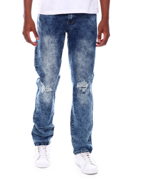 Buyers Picks - Washed Denim w Rips and Baking