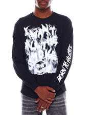 Long-Sleeve - I Want All The Smoke Printed Long Sleeve T-Shirt-2703954