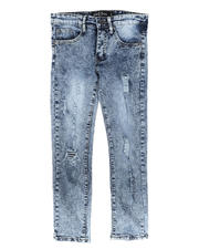 SASCO - Heavy Washed Ripped Denim Jeans (8-18)-2704041