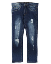 SASCO - Heavy Washed Ripped Denim Jeans (8-18)-2704055