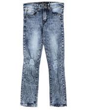SASCO - Washed Denim Jeans W/ Long Rips (8-18)-2704069