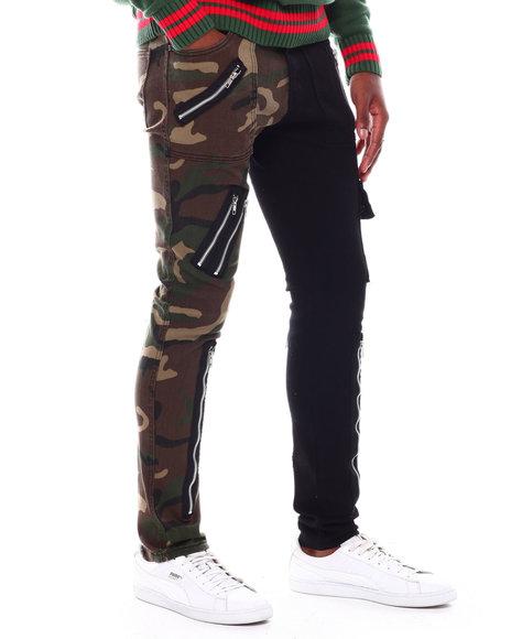 Buyers Picks - 2 Tone Fashion Jean w/Zippers