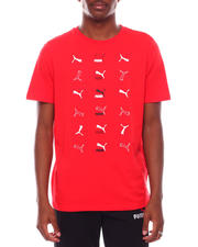 Short-Sleeve - All over Panther Logo BRAND LOVE TEE-2704448
